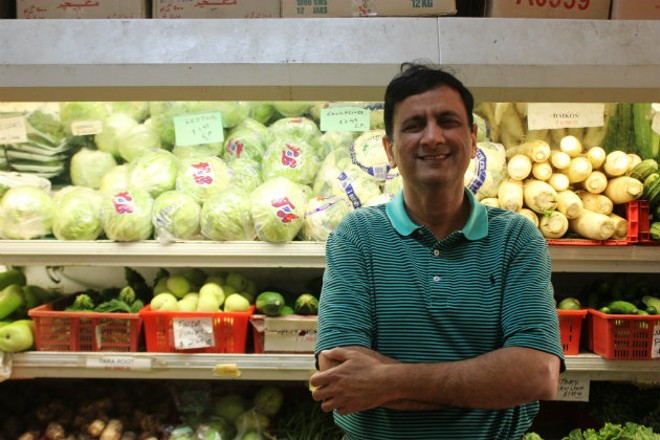 Rashed Kazmi, owner of Mideast Market. - CHERYL BAEHR