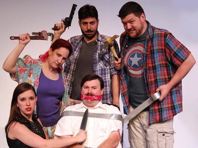 Stray Dog is mounting a funny new play called Monsters. - PHOTO BY JUSTIN BEEN