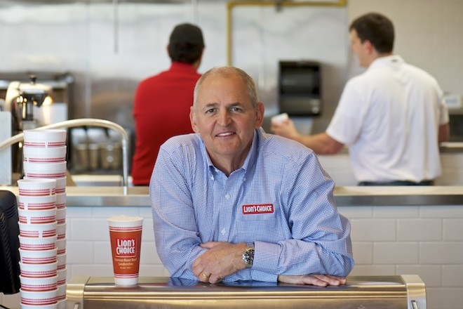 He started at McDonald's and spent lots of time at Panera. Now he's CEO of St. Louis' most-loved chain. - NICOLE GALLI MOHLER
