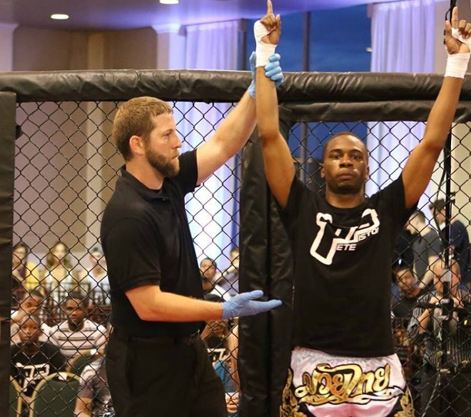 """Amateur MMA fighter Chris Peterson will show """"Fear Factor"""" audiences his St. Louis strength on Tuesday's episode of the nightmare-filled show. - CHRIS PETERSON"""