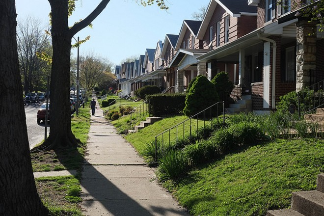 Neighbors in Tower Grove South are on edge. - PHOTO COURTESY OF FLICKR/PAUL SABLEMAN