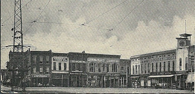 Horace Duncan, Fred Coker and Will Allen were lynched in this public square in Springfield, Missouri. - PHOTO COURTESY OF THE EQUAL JUSTICE INITIATIVE.