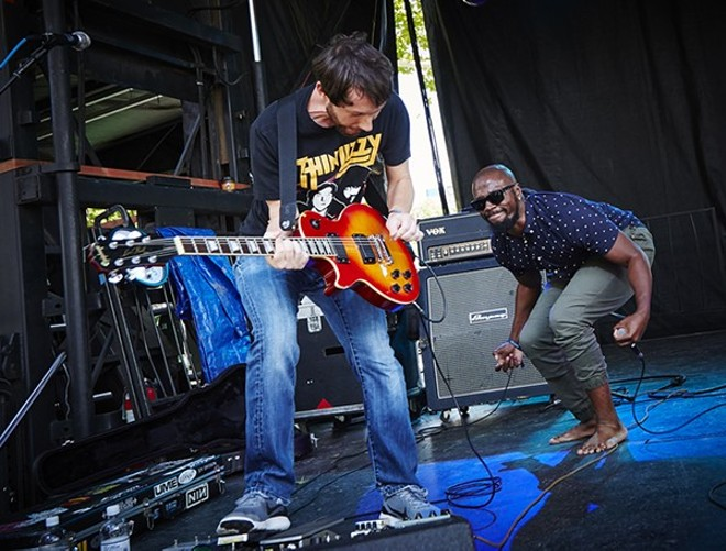 Illphonics performing at LouFest. - PHOTO BY STEVE TRUESDELL