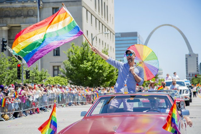 PrideFest raises much needed funds for Pride St. Louis - PHOTO BY SARA BANNOURA