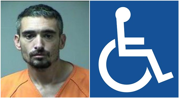 Casey Flinn is one of three suspects charged with stealing an 88-year-old's wheelchair ramp.