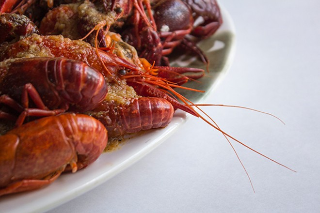 Crawfish are a specialty at the Mad Crab. - PHOTO BY SARA BANNOURA