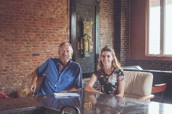 Jim Kelso, left, and Kelsey Jenkins are taking over the Filling Station. - PHOTO COURTESY OF KELSO'S