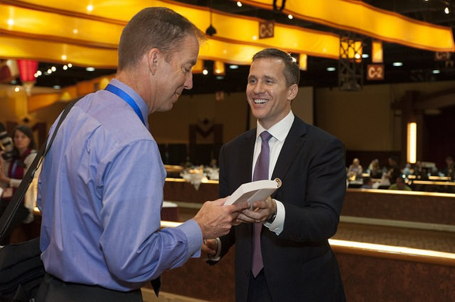 Governor Eric Greitens. - PHOTO COURTESY OF FLICKR/MICHIGAN WORKS! ASSOCIATION