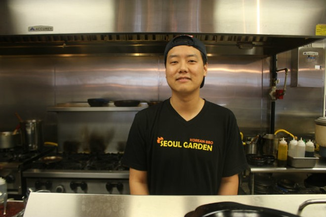 Sean Moon of Seoul Garden. - CHERYL BAEHR