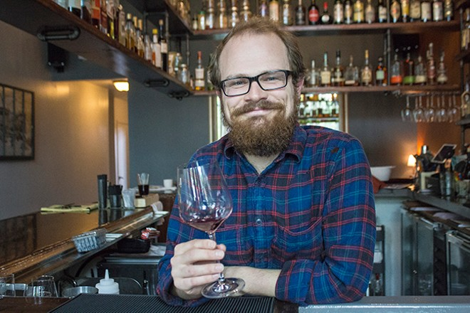 Travis Hebrank leads the bar at Polite Society. - SARA BANNOURA