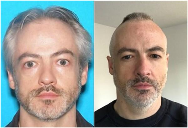 Ex-Washington University researcher Wyndham Lathem is wanted for murder. - IMAGES VIA CHICAGO POLICE/LINKEDIN