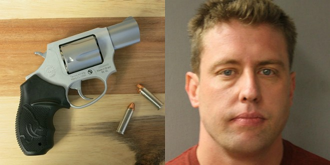 Ex-St. Louis Jason Stockley is accused of planting a .38 Taurus revolver to cover up a murder. - PHOTO VIA JAMES CASE/HARRIS COUNTY SHERIFF'S OFFICE