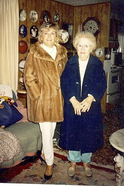 Patrick's mother, Patti Hunt, and grandmother, Marjorie Greenstreet, in an undated family photo. - COURTESY BUTCH PATRICK