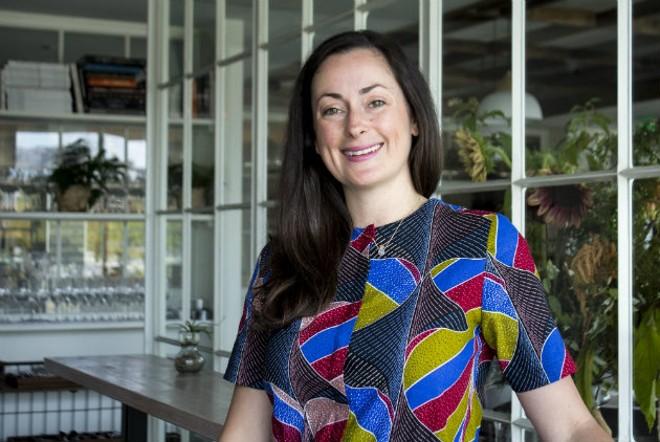 Tara Gallina makes service a noble art at Vicia. - SARA BANNOURA