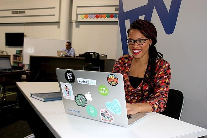 Crystal Martin, CoderGirl's program director. - ALLISON BABKA