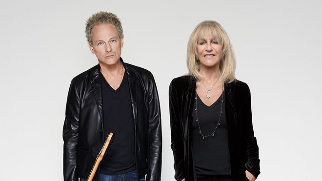Lindsey Buckingham and Christine McVie will perform together at the Fox Theatre on Saturday, October 28. - PRESS PHOTO