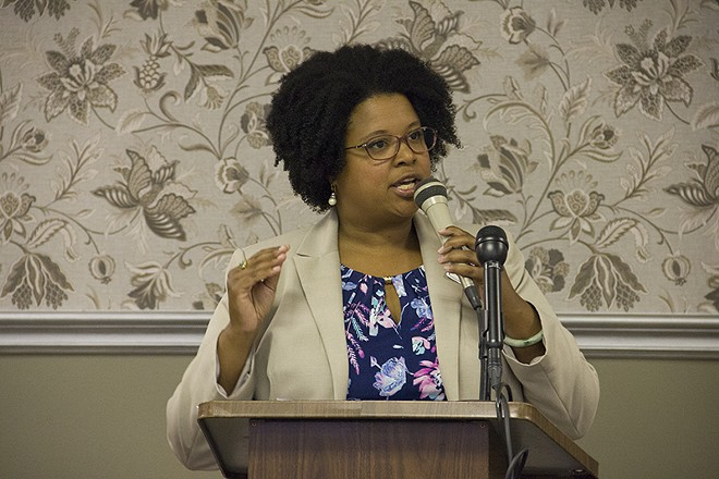 State Senator Maria Chappelle-Nadal in 2015. - PHOTO BY DANNY WICENTOWSKI