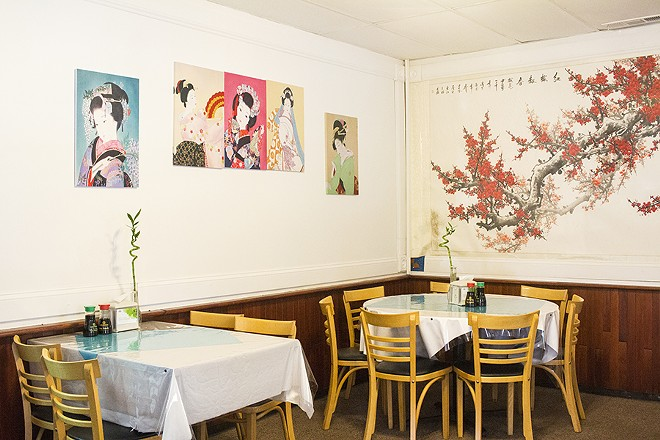 The dining room is a great place to order an old classic -- or try something brand-new. - PHOTO BY MABEL SUEN