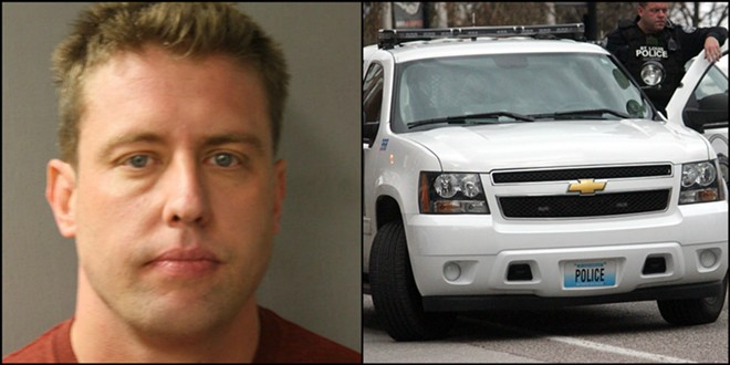 Charged with murder in 2013, ex-St. Louis Cop Jason Stockley was involved in a 2011 street pursuit that ended in him killing a suspect. - PHOTO VIA HARRIS COUNTY TEXAS SHERIFF'S OFFICE/DANNY WICENTOWSKI
