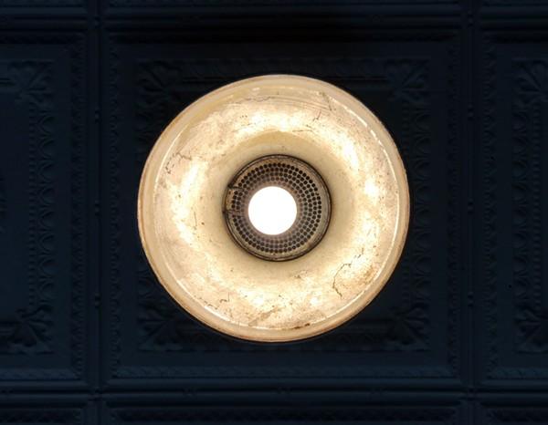 RECLAIMED LIGHT FIXTURE | SARA GRAHAM