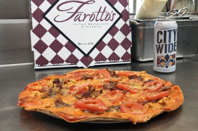 Farotto's Pasta and Pizzeria is one of the participating pizza vendors at the first-ever STL Square Off. - PHOTO COURTESY OF MICHAEL POWERS.