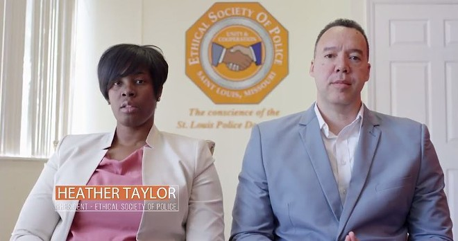 In a joint statement, ESOP president Heather Taylor and National Coalition of Law Enforcement Officers for Justice, Reform and Accountability co-founder Redditt Dudson called for Stockley's conviction. - VIA YOUTUBE