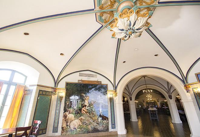 Soaring ceilings provide a measure of grandeur. - PHOTO BY MABEL SUEN