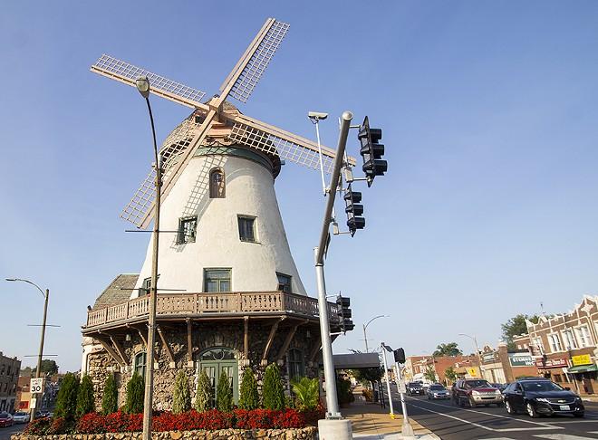 The Bevo Mill is a landmark. - PHOTO BY MABEL SUEN