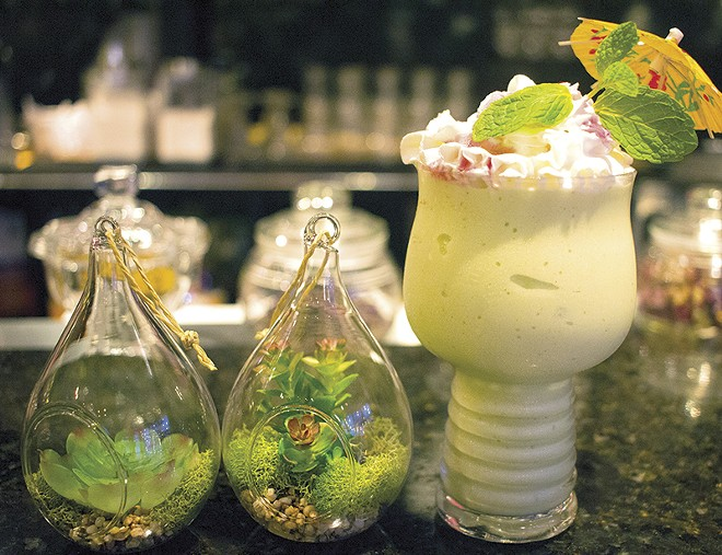 Avocado smoothie at VietNam Style. - MABEL SUEN