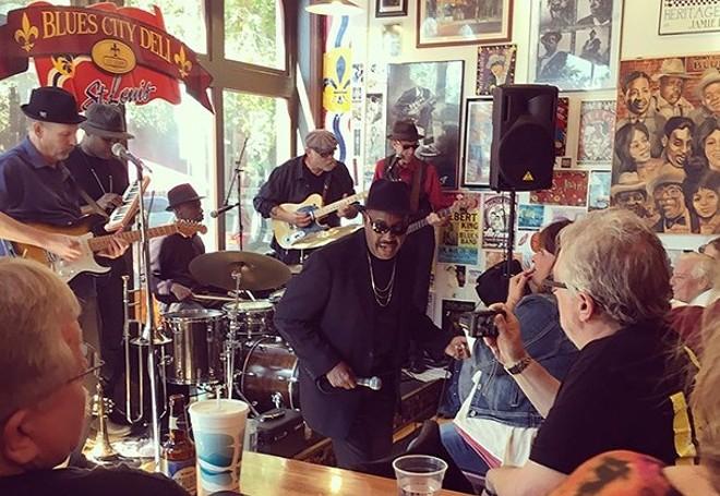 The Soulard Blues Band. - KELLY GLUECK