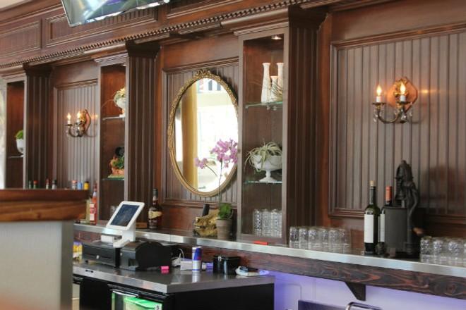 The bar at Grace Meat + Three. - CHERYL BAEHR