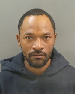 "After his arrest, Danny Barnett's mugshot was widely shared in news stories. It's among the first Google search returns. ""My reputation is ruined,"" he says. - MUGSHOT VIA SLMPD"