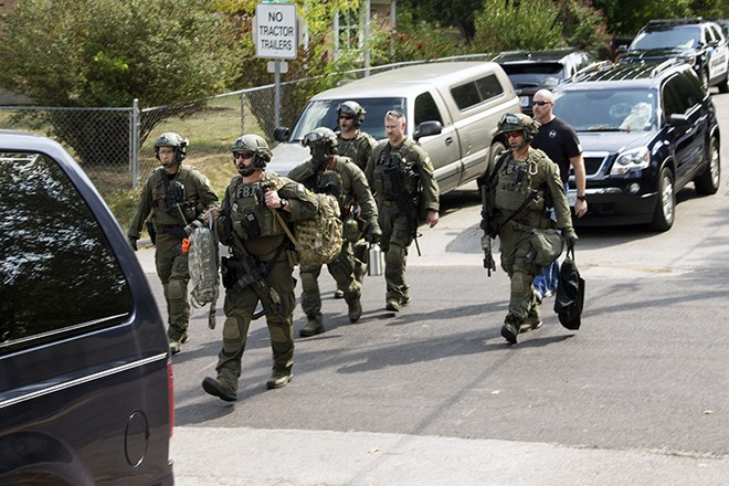 Vicki Henry's son was the subject of an FBI raid on September 25 — and a twelve-hour standoff. - DANNY WICENTOWSKI