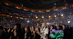 Justin Bieber at the Scottrade Center