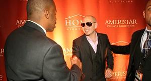 Pitbull at Home Nightclub, 12/19/09