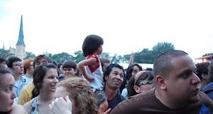 Public Enemy at Chicago's Pitchfork Music Festival, 7/18/08