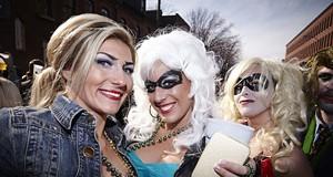 Scenes from Soulard Mardi Gras, 2013 (NSFW)