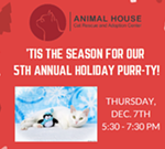 Animal House's Holiday Purr-ty