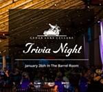Cedar Lake Cellars' Trivia Nights