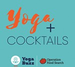 Operation Food Search's Yoga and Cocktails