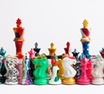 Painted Pieces: Art Chess from Purling London