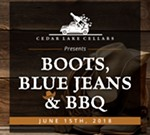 Cedar Lake Cellars' Boots, Blue Jeans & BBQ