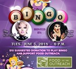 Bingo at Hamburger Mary's Benefiting Food Outreach