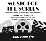 Zafira String Quartet Presents Music For The Screen