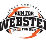 Ivory Crockett Run for Webster