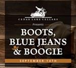 Cedar Lake Cellars' Boots, Blue Jeans & Boogie