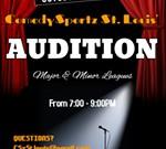 ComedySportz Auditions