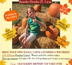 Bakers & Hale Pumpkin Carving Contest