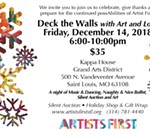 Artists First Deck the Wall with Art and Love