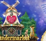 Wundermarket and the Snow Queen's Cottage